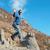 işadamı · tırmanma · tepe · asfalt · mutlu · profesyonel - stok fotoğraf © vapi