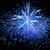 Blue fireworks stock photo © vapi