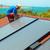worker installs solar panels stock photo © vapi