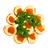 szendvics · lazac · ikra · uborka · petrezselyem · izolált - stock fotó © vapi