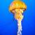 narancs · meduza · tenger · kék · óceán · víz - stock fotó © vapi