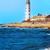 hullám · világítótorony · Sussex · fehér · durva · tenger - stock fotó © vapi