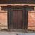 fából · készült · ív · bejárat · nagy · földút · Montana - stock fotó © vapi