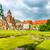собора · Краков · Польша · зеленый · газона · здании - Сток-фото © vapi