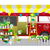 flower shop flowers shop mobile on wheels red car with bouquet stock photo © vasilixa