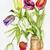 tulips flowers in ceramic pot stock photo © vavlt