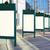 lege · witte · billboard · trottoir · business · weg - stockfoto © vavlt