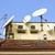 tetto · telefono · televisione · home · spazio - foto d'archivio © vavlt