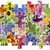 floral puzzles abstract concept stock photo © vavlt