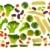 スライス · 生 · 孤立した · 野菜 · 料理 · 白 - ストックフォト © vavlt