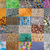 mosaic from natural and handmade textures stock photo © vavlt