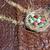Pasen · cake · Rood · plaat · ring · marmer - stockfoto © vavlt