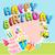 happy birthday stock photo © vectomart