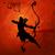 arrow · ilustracja · festiwalu · tle · wojny · kultu - zdjęcia stock © vectomart
