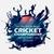 batsman and bowler playing cricket championship sports stock photo © vectomart