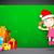 3D · девушки · совета · иллюстрация · прыжки · ребенка - Сток-фото © vectomart