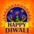 happy diwali background with colorful firecracker stock photo © vectomart