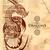 ejderha · çizim · eski · bağbozumu · kitap - stok fotoğraf © vectomart