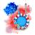 vierde · gelukkig · dag · amerika · illustratie · ontwerp - stockfoto © vectomart