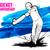 ベクトル · 小さな · クリケット · バット · 手 - ストックフォト © vectomart