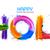 gelukkig · festival · indian · kleuren · ontwerp · banner - stockfoto © vectomart