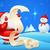 alegre · Navidad · papá · noel · lectura · lista - foto stock © vectomart
