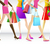 compras · senhoras · sacos · menina · sensual · fundo - foto stock © vectomart