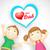 sevmek · baba · mutlu · babalar · günü · tebrik · adam · mutlu - stok fotoğraf © vectomart