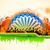 Hint · vatandaş · bayrak · üç · renkli · örnek - stok fotoğraf © vectomart