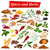 full collection of aromatic spices and herbs used for cooking stock photo © vectomart