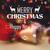 allegro · Natale · colorato · renne · biglietto · d'auguri · vintage - foto d'archivio © vectomart