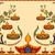 happy diwali background with diya stock photo © vectomart