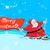 vrolijk · christmas · banner · sneeuwval · sneeuw · achtergrond - stockfoto © vectomart