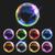 セット · 透明な · シャボン玉 · 勾配 · カスタム - ストックフォト © vectomart