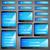 háló · bejelentkezés · űrlap · sablon · neon · fények - stock fotó © vectomart