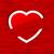 heart in love background stock photo © vectomart