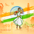 diversità · India · illustrazione · ballerino · colorato - foto d'archivio © vectomart