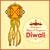 Hanging kandil lamp and diya for Diwali decoration stock photo © vectomart
