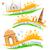 Taj · Mahal · tricolor · Inde · grunge · illustration · design - photo stock © vectomart