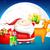 クリスマス · ギフト · 袋 · サンタクロース · ポップアート · レトロな - ストックフォト © vectomart