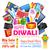 diwali · ofrecer · promoción · anuncio · ilustración · diseno - foto stock © vectomart