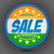 sale badge in indian tricolor foto stock © vectomart