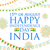 üç · renkli · Hindistan · afiş · mutlu · gün · Hint - stok fotoğraf © vectomart