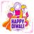 szczęśliwy · diwali · wakacje · świetle · festiwalu · Indie - zdjęcia stock © vectomart