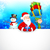elf · christmas · geschenk · illustratie · achtergrond · vak - stockfoto © vectomart