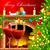 рюмку · свечу · Рождества · иллюстрация · декоративный · мяча - Сток-фото © vectomart