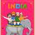 çeşitlilik · Hindistan · örnek · dansçı · renkli - stok fotoğraf © vectomart