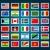 Oroszország · bélyeg · piros · pecsét · vektor · terv - stock fotó © vectomart