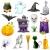dynia · zestaw · halloween · odizolowany · biały - zdjęcia stock © vectomart