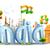 Hindistan · örnek · üç · renkli · balon · Hint · bayrak - stok fotoğraf © vectomart